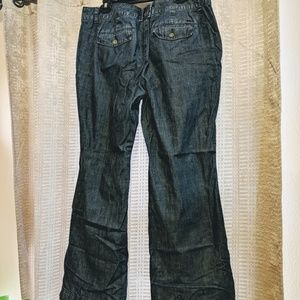 Tommy Hilfiger Plus size 14 Madison Flare Jeans